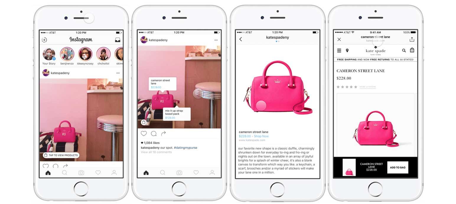 Instagram lanceert shopping